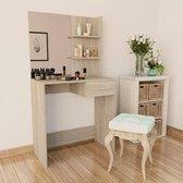 Kaptafeltje met spiegel (Incl LW 3d klok) / Make up tafel / Kap tafel / Make-up tafel