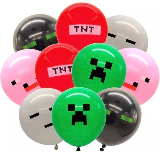 20x Minecraft ballonnen 30 cm | party | feestje | verjaardag