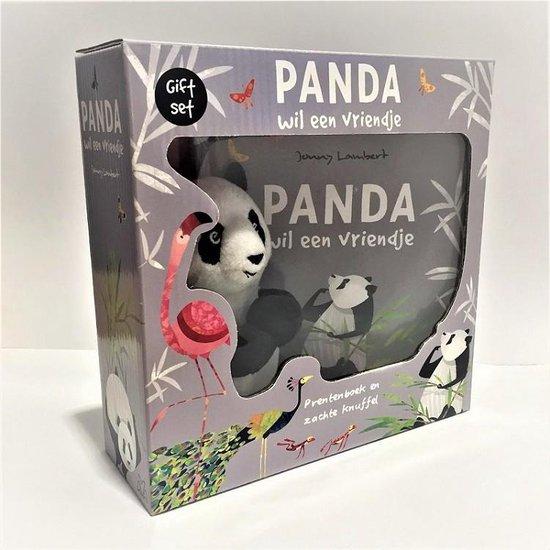 Boek cover Panda wil een vriendje van Jonny Lambert (Hardcover)