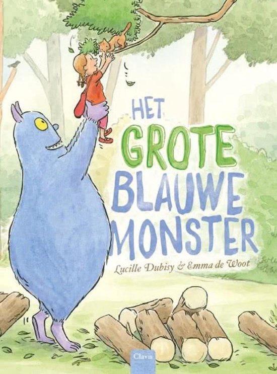 Het grote blauwe monster - Lucille Dubisy | Readingchampions.org.uk