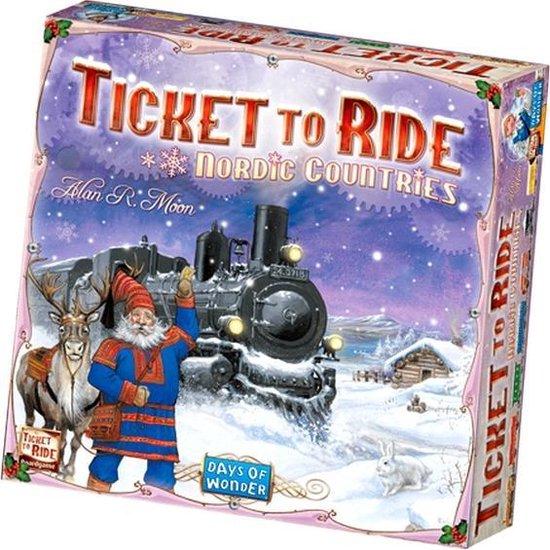 Afbeelding van Ticket to Ride Nordic Countries - Bordspel - Engelstalig
