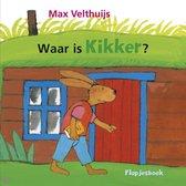 Boek cover Waar is Kikker? van Max Velthuijs (Hardcover)