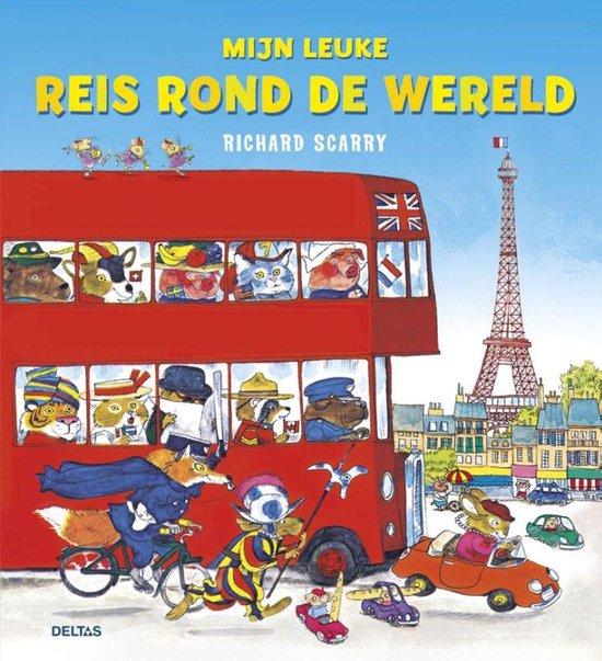 Richard Scarry - Mijn leuke reis rond de wereld - Richard Scarry   Fthsonline.com