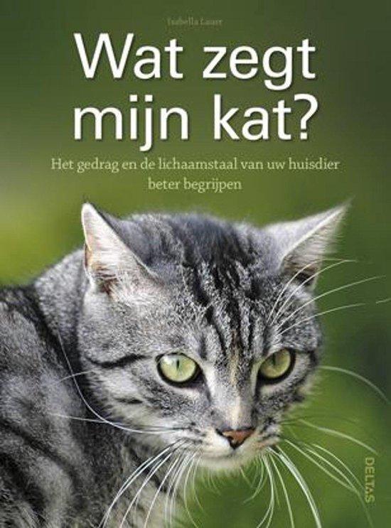 Wat zegt mijn kat? - Isabella Lauer | Readingchampions.org.uk