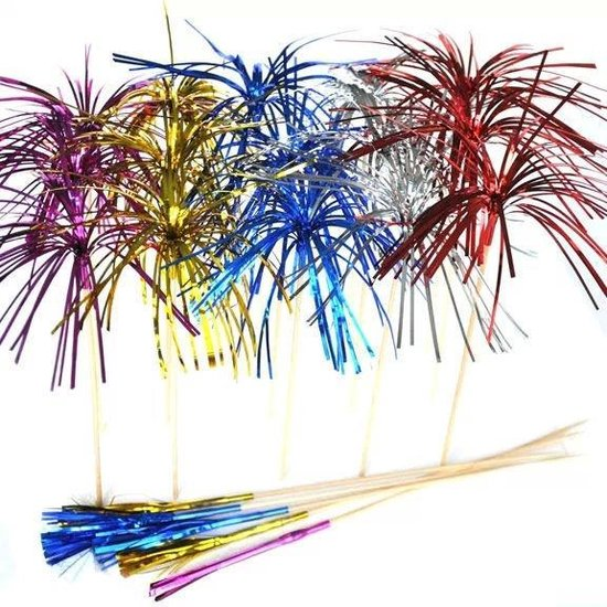 Haza Original Partyprikkers Folie 6 Stuks 12 Cm Multicolor
