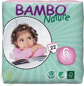 Bambo Nature Baby Luiers 6 XL 16-30kg 22ST