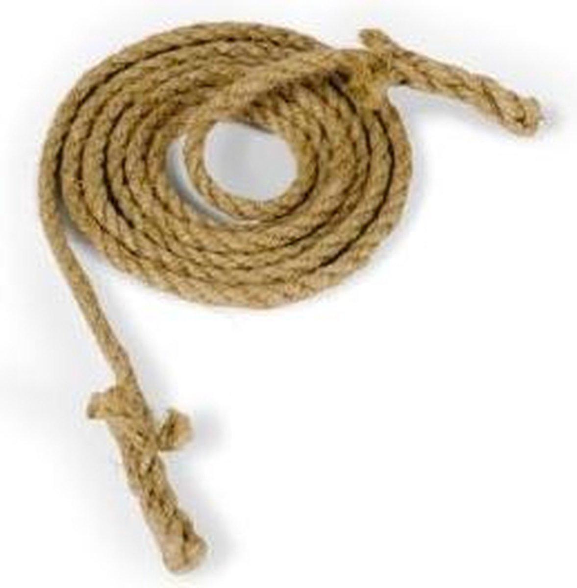 Touwspringen, touwtjespringen  5 meter lang 6 mm dik  Top Kwaliteit