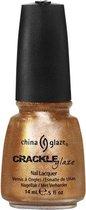 China Glaze Crackle Nagellak - Cracked Medallion