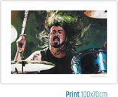 Foo Fighters, Dave Grohl poster (100x70cm)