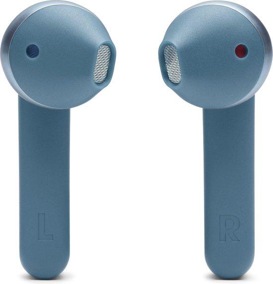 JBL Tune 220TWS - Volledig draadloze oordopjes - Blauw