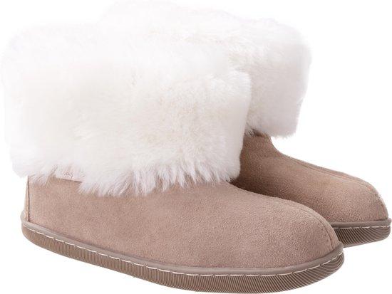 Donja HD warme schapenvacht pantoffels maat 41