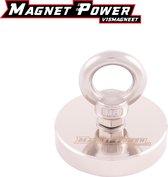 Magnet Power Premium Vismagneet - 120KG trekkracht - Neodymium Vismagneten - Magneetvissen