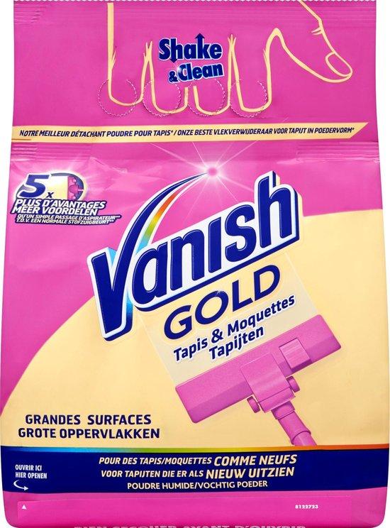 Vanish Gold Poeder voor Tapijtreiniger Vlekken - 650 g