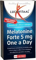 Lucovitaal Melatonine Forte 5 mg One a Day Voedingssupplement - 120 tabletten