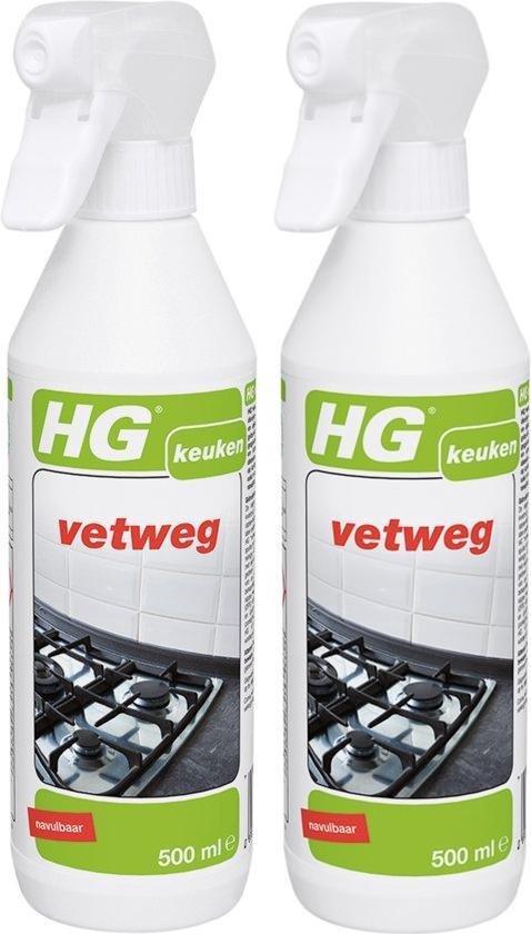 HG Vetweg - 500 ml - Vet verwijderaar