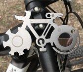Fiets Multitool - RVS Gereedschap voor fietsreparatie - Gadget voor fietsers