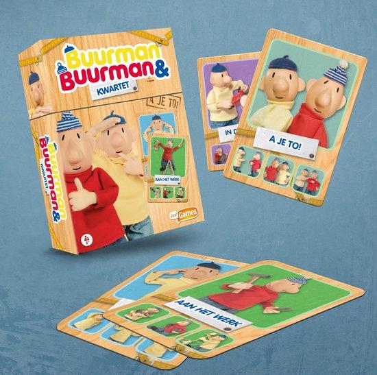 Buurman & Buurman - Kwartet - Kaartspel