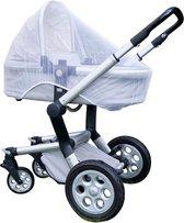 Anti muggennet voor kinderwagen - Klamboe - Klamboe kinderwagen - Klamboe Buggy - Buggy