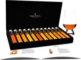 Tasting Collection Cognac Proeverij - 12.1 - 12 Tubes in luxe doos