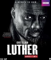 Luther - Serie 1 t/m 4 (Blu-ray)