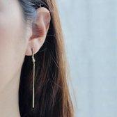 Wanderlust + Co Knot Your Average zilveren oorbellen