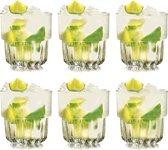 Libbey Drinkglas Everest - 355 ml / 35,5 ml - 6 stuks - stapelbaar - hoge kwaliteit