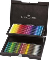 Faber-Castell Polychromos kleurpotlood - 72st. - koffer hout - FC-110072