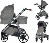 Ding Joyce Kinderwagen 3-in-1 - Met Autostoel - Grijs