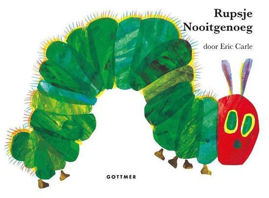 Boek cover Rupsje Nooitgenoeg - Rupsje Nooitgenoeg van Eric Carle (Hardcover)