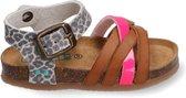 BunniesJr Becky Beach Meisjes sandalen - Leopard multi - Maat 25