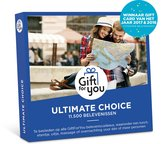 GiftForYou Cadeaubon - Ultimate Choice