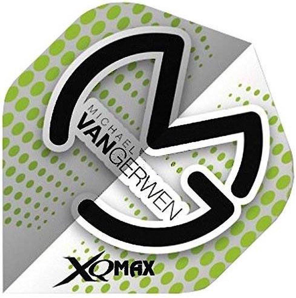 Xq Max Michael Van Gerwen Flights Standard A Grijs/groen 3 Stuks