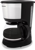 Tomado TCM1201S - koffiezetapparaat - filter - 10 kopjes - zwart/rvs