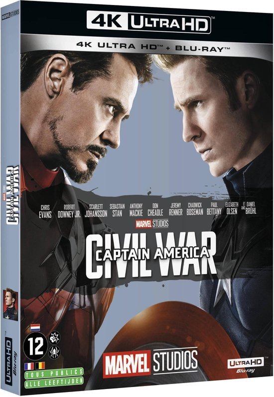 Captain America: Civil War (4K Ultra HD Blu-ray) (Import)