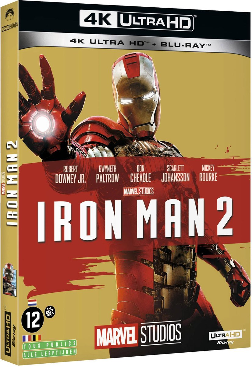 Iron Man 2 (Import) (4K Ultra HD Blu-ray)-
