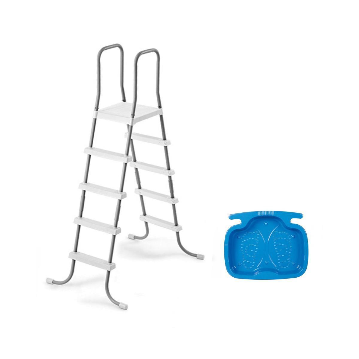 Intex trap groot (132 cm) + voetenbad