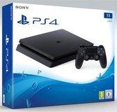 Sony PlayStation 4 Slim Console - 1 TB - Zwart