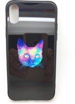 Iphone XS hoesje met kat