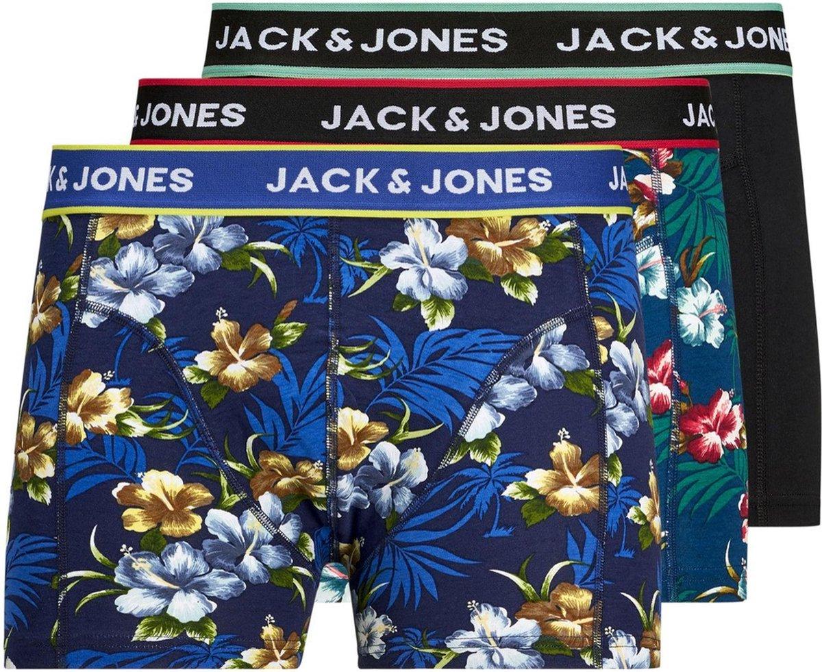 Jack & Jones 3P Heren Boxershorts - Maat M