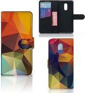 Bookcase OnePlus 7 Polygon Color