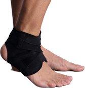 Enkelondersteuning, Yesloo-kwaliteit Verstelbare en ademende enkelbrace met volledig aangepaste strapping, zwart