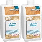 HG Olievloer Reiniger - 1000 ml - 2 Stuks !