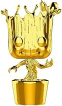 Groot (Chrome) #378 - Marvel 10 year Anniversary - Funko POP!