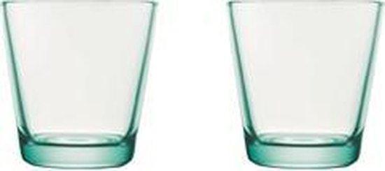 Iittala Kartio Glas - 21 cl - Watergroen - 2 stuks - Iittala