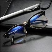 Luxe Computer Bril - Anti Blauwlicht Beeldscherm Filter Bril - Bluelight Bril - Unisex - Zonder Sterkte