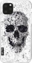 hoesje Doodle Skull BW Casetastic Smartphone Hoesje softcover case