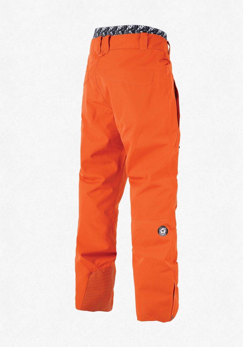 Picture Object expedition orange wintersport broek heren maat L