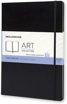 Moleskine Art Schetsboek A4 - Hard cover - Blanco - Zwart
