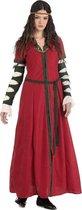 Middeleeuwen & Renaissance Kostuum | Jonkvrouwe Leonora Van Egmont Kostuum | Maat 46 | Carnaval kostuum | Verkleedkleding