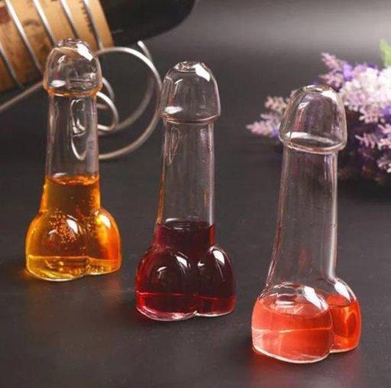 Piemel cocktail glas | COCKtail glas | piemel glazen | Grappige glazen | Penis glas | Cadeau Penis| Vrijgezellen feest | trouwen | 18 jaar | 16 jaar | 21 jaar|